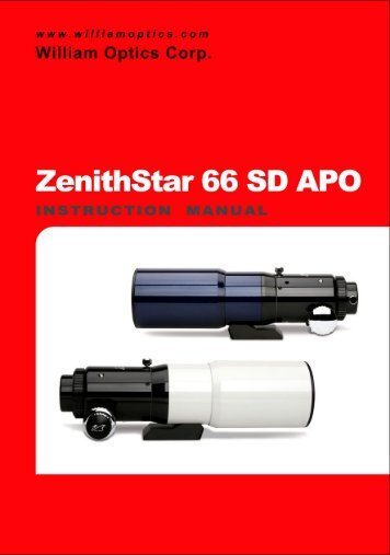ZenithStar 66 SD APO - William Optics