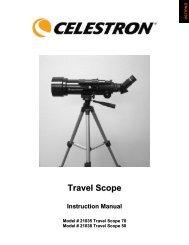 Travel Scope - Celestron
