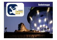 Bankettmappe (PDF) - München Locations