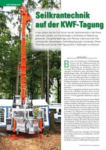den ganzen Artikel lesen... - Herzog Forsttechnik
