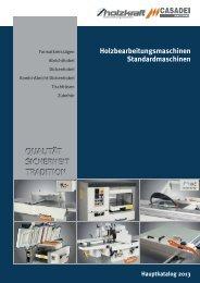 Holzbearbeitungsmaschinen Standardmaschinen - Aircraft