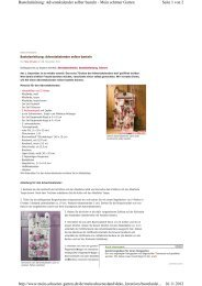 Seite 1 von 2 Bastelanleitung: Adventskalender selber basteln ...