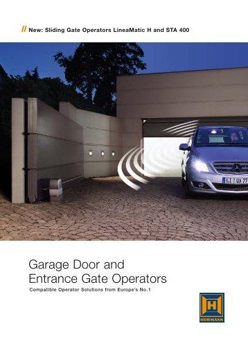 the full Hormann Operator brochure - ABI Garage Doors