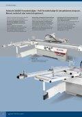 Holzbearbeitungsmaschinen Standardmaschinen - HK ... - Seite 6
