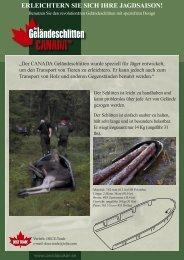 Der Geländeschlitten CANADA wurde nach ... - Canadapulkan
