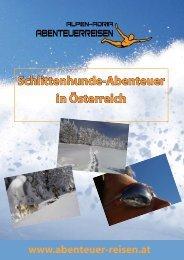 Schlittenhunde-Abenteuer in Österreich - Abenteuer Reise in ...