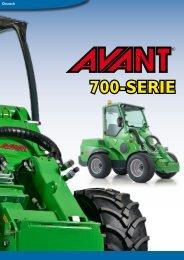 AVANT 700-Serie, Prospekt Deutsch