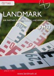 Landmark Katalog VM33 - Landmark.at