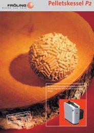 Pelletskessel P2 - Fröling Heizkessel