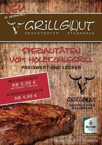 Spezialitäten vom HolzkoHlegrill - GRILLG(L)UT - Oeventroper ...