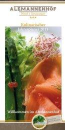 Descargar alimentos Planificación del Año - Alemannenhof