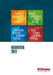 neuheiten 2011 - Dimplex