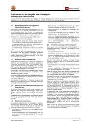 Kriterien - EHI Geprüfter Online-Shop