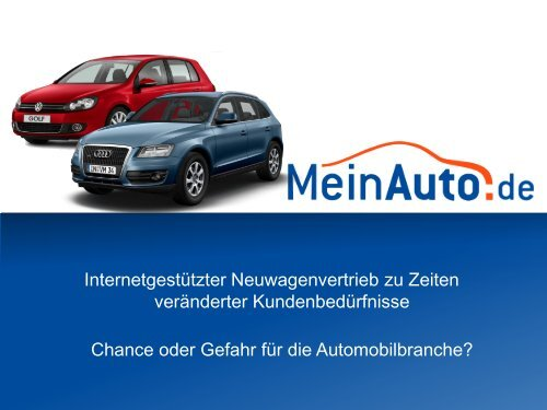 Internet - MeinAuto.de