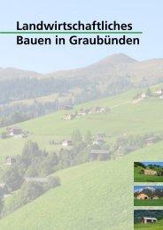 Landwirtschaftliches Bauen in Graubünden - vlp-aspan