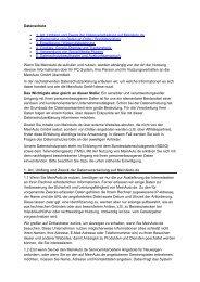 Datenschutzerklärung als Download (PDF-Version) - MeinAuto.de