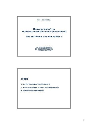 Download Studie - MeinAuto.de