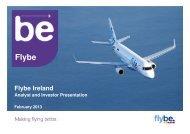 Flybe-Ireland-Analyst-and-Investor-Presentation-6-February-2013