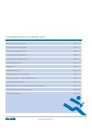 Kundendienstleistungen 2013 - Buderus