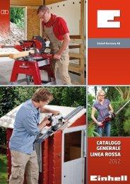 Catalogo generale lInea roSSa 2012 - Einhell Italia