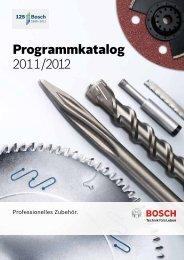 Programmkatalog 2011/2012 - Bosch