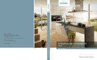 Einbaugeräte 2012 Wärme 1 - Siemens Home Appliances