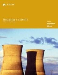 imaging systems - Mirion Technologies