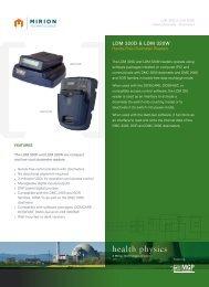 health physics - Mirion Technologies
