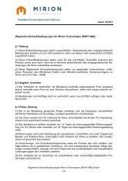 Allgemeine Einkaufsbedingungen der Mirion Technologies (MGPI ...