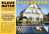 DACH&WAND - Klaus Meyer