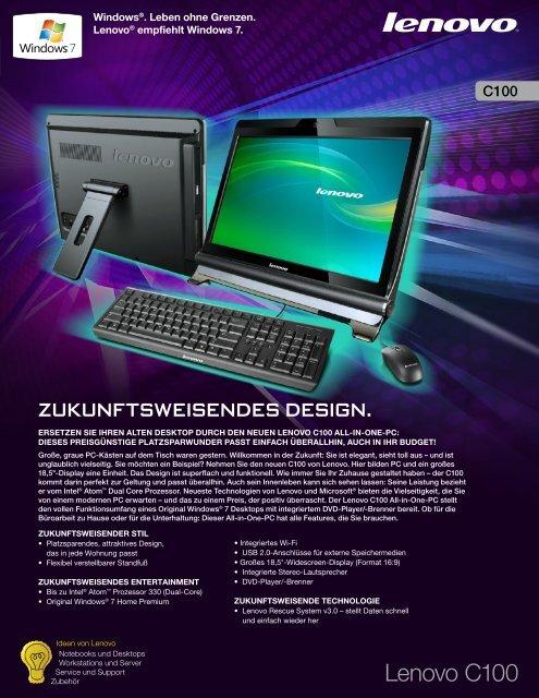 Lenovo C100 - ARP