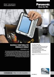 Toughbook Panasonic CF-U1 - HHK Datentechnik GmbH