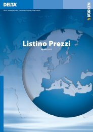 Listino Prezzi - Italtetti