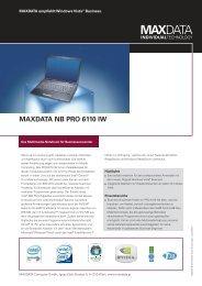 MAXDATA NB PRO 6110 IW