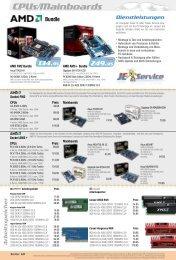 CPUs/Mainboards Bundle - JE-Computer
