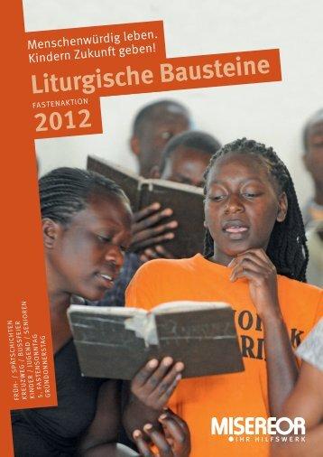 Liturgische Bausteine - Misereor