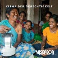 Themenheftchen (2012): Klima der Gerechtigkeit - Misereor