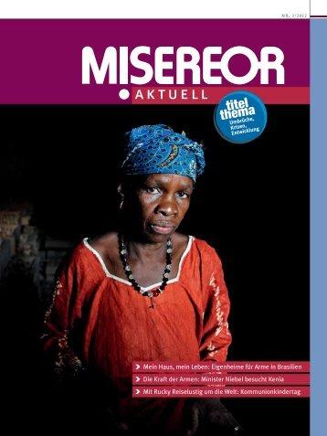 MISEREOR aktuell 3/2012