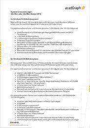 Systemvoraussetzungen 3ds Max oder 3ds Max Design 2012