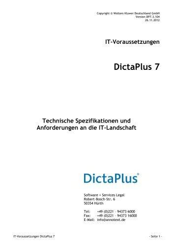 DictaPlus 7 - AnNoText