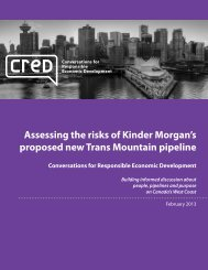 Assessing the risks of Kinder Morgan's proposed new Trans Mountain pipeline