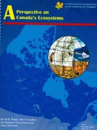 Ecozone - Canadian Council on Ecological Areas