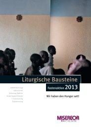 Einladung und Plakatmeditation .pdf - Misereor