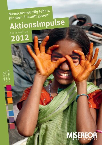 AktionsImpulse 2012 - Misereor