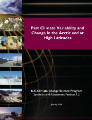 Past Climate Variability and Change in the Arctic and at High Latitudes