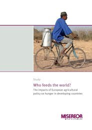 Who feeds the world? - Misereor