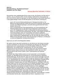 2010-05-05-SJ-Statement-Prophetische Kirche - Misereor