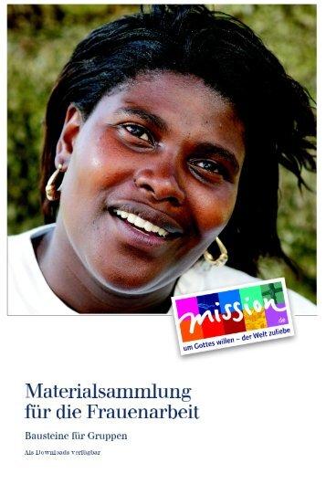Materialsammlung für die Frauenarbeit - mission.de