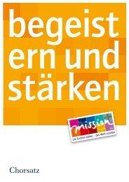 Chorsatz - mission.de
