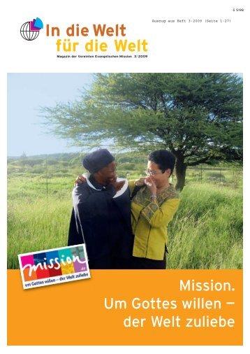 In die Welt für die Welt - mission.de